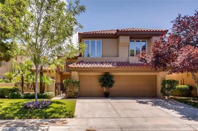 Las Vegas Single Family Home Under Contract - No Show: 7825 Rancho Mirage Drive