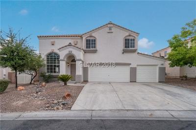 North Las Vegas NV Single Family Home Under Contract - No Show: $298,000