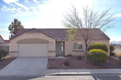 North Las Vegas Single Family Home Under Contract - No Show: 5718 Coleman Street