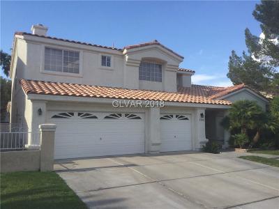Las Vegas, North Las Vegas, Henderson Single Family Home For Sale: 2012 Grafton Avenue