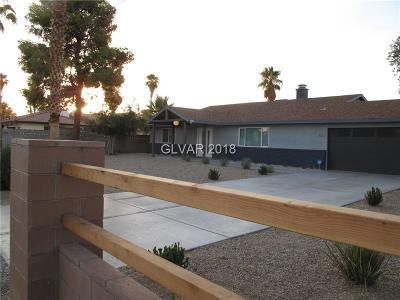 Las Vegas Single Family Home For Sale: 5738 Eldora Avenue
