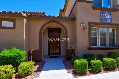 Las Vegas Condo/Townhouse For Sale: 11500 Belmont Lake Drive #102