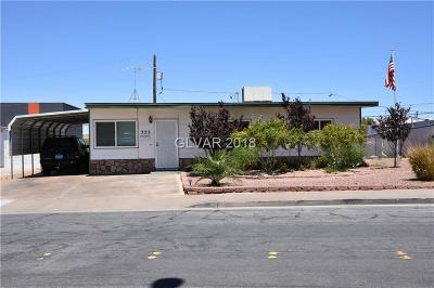 Henderson Single Family Home Under Contract - No Show: 323 Tin Street