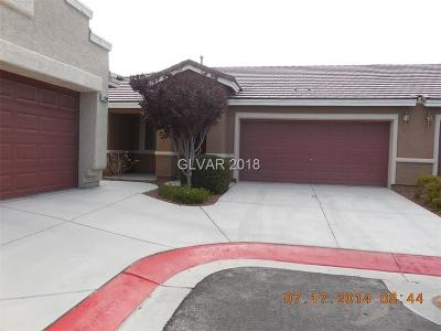 North Las Vegas Condo/Townhouse Under Contract - No Show: 5044 Treasure Hills Street
