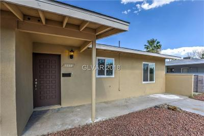 Las Vegas Single Family Home For Sale: 1232 Purple Sage Avenue