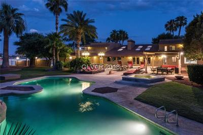Las Vegas NV Single Family Home Under Contract - Show: $1,700,000