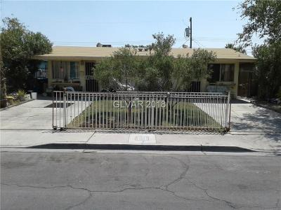 North Las Vegas Multi Family Home Under Contract - No Show: 3315 Tabor Avenue