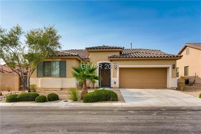 Las Vegas Single Family Home Under Contract - No Show: 7609 Barton Rock Court