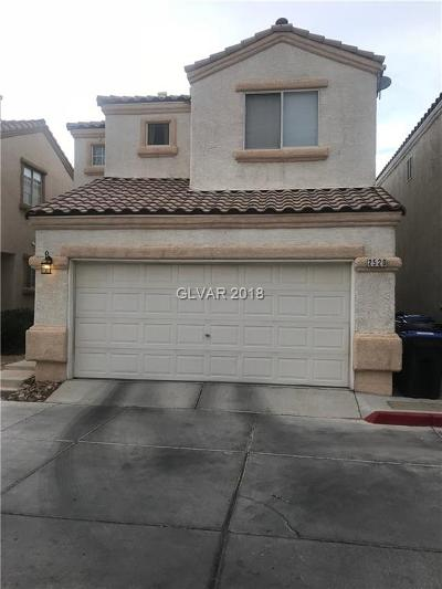 North Las Vegas Single Family Home Under Contract - No Show: 2520 Lord Orville Court