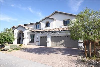 Las Vegas Single Family Home Under Contract - No Show: 8065 Pavarotti Avenue