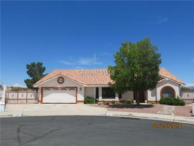 Boulder City Single Family Home Under Contract - No Show: 507 Cayuga Court