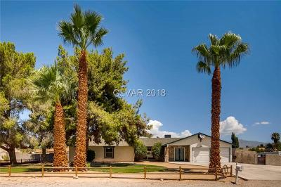 Single Family Home For Sale: 8000 Rosada Way