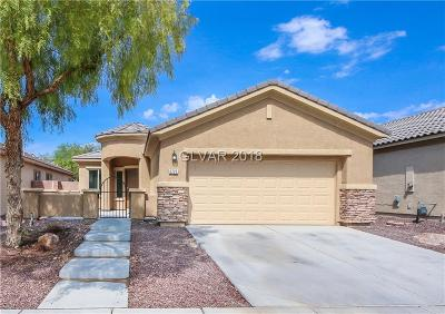 North Las Vegas NV Single Family Home Under Contract - No Show: $278,000