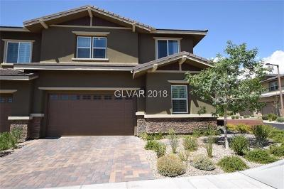 Las Vegas Condo/Townhouse Under Contract - No Show: 5615 Granollers Drive