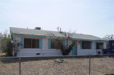 Las Vegas Single Family Home Under Contract - No Show: 701 Scholl Drive