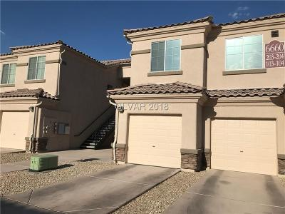 North Las Vegas Condo/Townhouse Under Contract - No Show: 6660 Flaminian Lane #203
