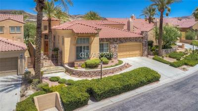 Henderson Single Family Home Under Contract - No Show: 1099 Casa Palermo Circle