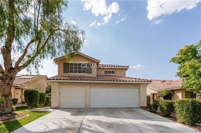 Las Vegas NV Single Family Home Under Contract - No Show: $343,000