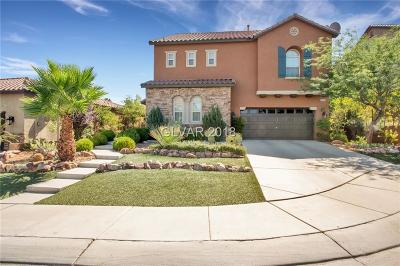 Henderson Single Family Home For Sale: 840 Veramar Court