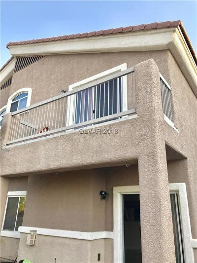 North Las Vegas Condo/Townhouse Under Contract - No Show: 4613 Bell Cord Avenue #103