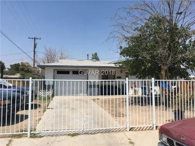 Las Vegas Single Family Home For Sale: 4117 Park Street