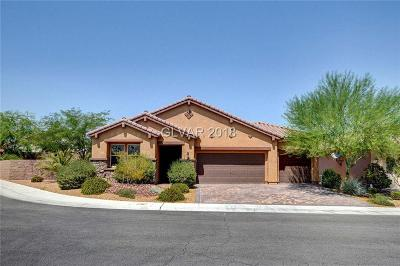 Henderson Single Family Home Under Contract - No Show: 949 Via Vannucci Way