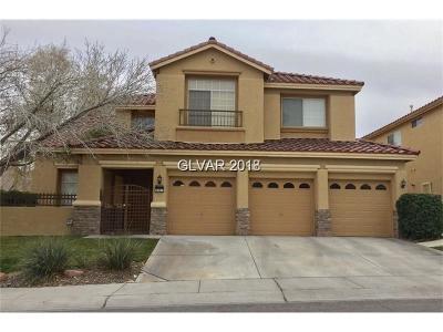 Las Vegas, North Las Vegas, Henderson Single Family Home For Sale: 8401 Desert Quail Drive