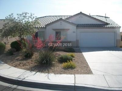 North Las Vegas Single Family Home For Sale: 3436 Mazzocco Court