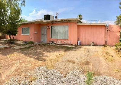 North Las Vegas NV Single Family Home Under Contract - No Show: $165,000