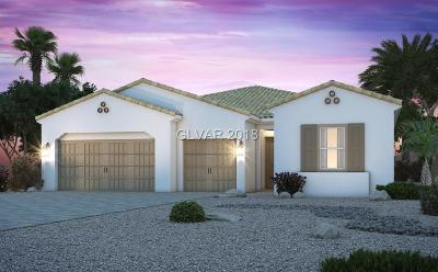 Las Vegas Single Family Home Under Contract - No Show: 738 Glacier Springs Drive
