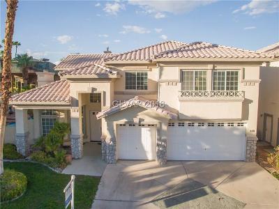 Las Vegas, North Las Vegas, Henderson Single Family Home For Sale: 8930 Las Montanas Avenue