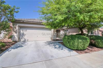 Clark County Single Family Home Under Contract - No Show: 7871 Morning Gallop Court