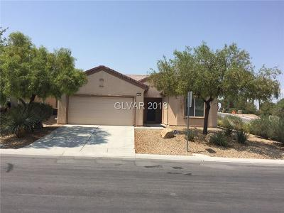 North Las Vegas Single Family Home For Sale: 7549 Lintwhite Street