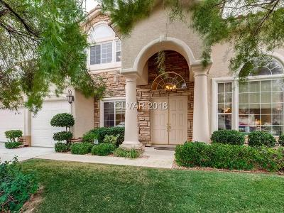 Las Vegas Single Family Home For Sale: 9767 Newport Coast Circle