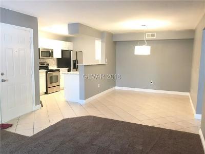 Las Vegas Condo/Townhouse For Sale: 8101 Flamingo Road #1100