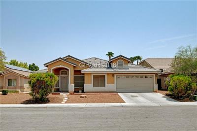 North Las Vegas Single Family Home Under Contract - No Show: 4506 Patriot Cannon Street