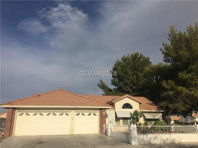 Las Vegas NV Single Family Home Under Contract - Show: $315,000