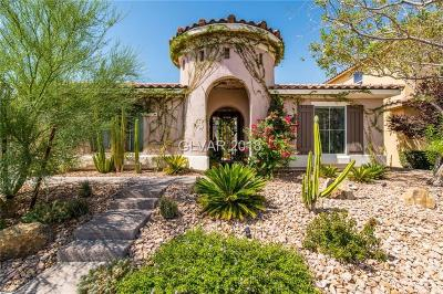 Henderson Single Family Home For Sale: 2812 Maryland Hills Drive