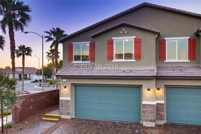 North Las Vegas Condo/Townhouse Under Contract - No Show: 3944 Juanita May Avenue #Lot 221