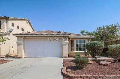 North Las Vegas NV Single Family Home Under Contract - No Show: $262,100