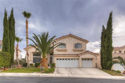 Las Vegas, North Las Vegas, Henderson Single Family Home For Sale: 1351 Meandering Hills Drive