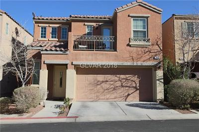 Las Vegas Single Family Home Under Contract - No Show: 7448 Manfre Street