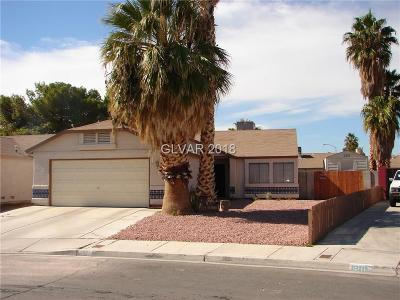 Las Vegas NV Single Family Home For Sale: $240,000