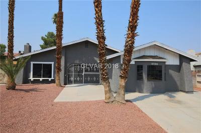 Las Vegas Single Family Home For Sale: 6766 Grandola Drive