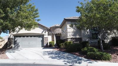 Las Vegas Single Family Home Under Contract - No Show: 11770 Stonewall Springs Avenue