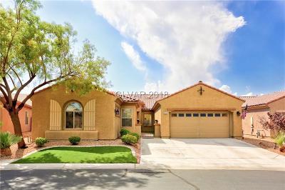Las Vegas Single Family Home For Sale: 3935 Galiceno Drive