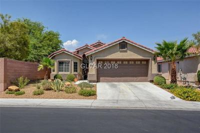 North Las Vegas Single Family Home Under Contract - No Show: 4472 Valley Quail Way