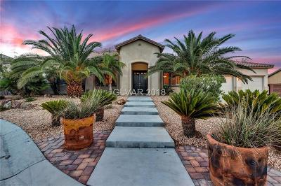 Las Vegas Single Family Home Under Contract - No Show: 5160 Georgetown Cove Court