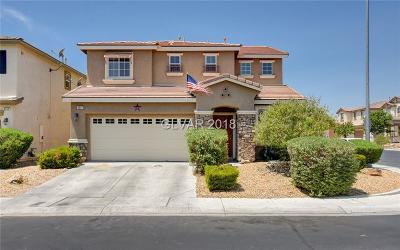North Las Vegas Single Family Home Under Contract - No Show: 6517 Setting Moon Street