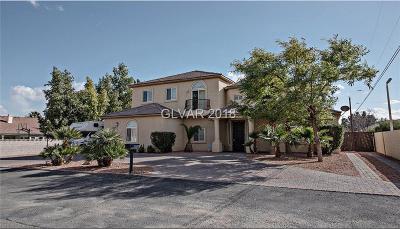 Las Vegas Single Family Home For Sale: 6233 Palmyra Avenue